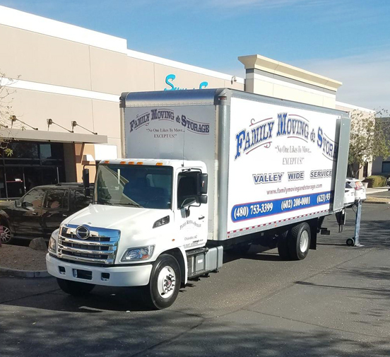 The Best Local Moving Company in Glendale, AZ - Family Moving and Storage